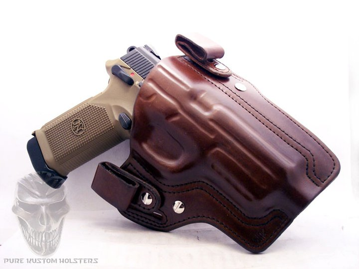 BLACK OPS PRO TACTICAL LEATHER HOLSTERS