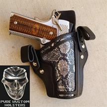 Pure_Kustom_Holsters_Chrome_Snake_Skin_1
