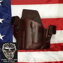 Pure_Kustom_Holsters_Wilson_EDC_Proffesional_with_Olight_Mini_Dark_Mahogany
