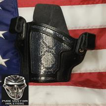 STI_holsters_Dan_Wesson_Elite_10mm_Chrome_Snake_Skin_Black_by_Pure_Kustom1